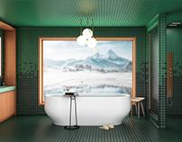 Alpine Residence - Master Bath