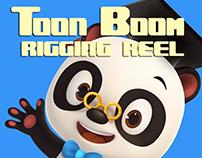 Toon Boom rigging reel 2017