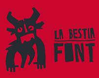 LA BESTIA (free font)
