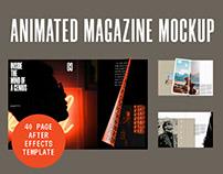 Animated Magazine Mockup