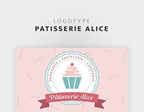 Pâtisserie Alice - Logo