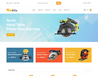Toolkits - Shopify Theme for Tools, Equipment Store
