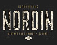 Nordin Vintage - Font Family (Free Download)