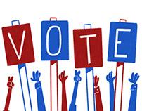VOTE - Midterm Gif Series