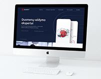 """""""DUVAIT"""" internetinio puslapio dizainas"""