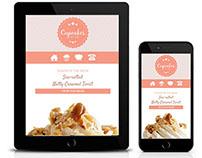 Responsive Web Development: Cupcakes by Ree