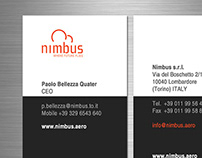 Nimbus srl Business Card 2013