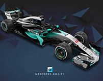 Mercedes AMG F1 2018 Concept Liveries.