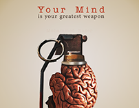your mind is your greatest weapon