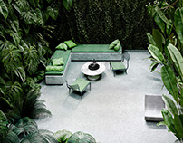 Beautiful Computer Generated Images II. Tropical Garden