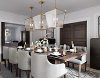 CGI for a dining room London