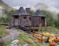 CGI - HAGRID'S HOUSE