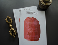 Bhutan- Illustrated Travel Diary