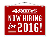2016-17 San Francisco 49ers Graphic Design Internship