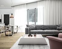 House Id.T01, Uni-familiar ap. InteriorDesign, Albania