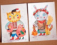 Folklore Illustrations for Children