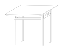 Shinto Temple Table