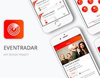Eventradar-Mobile App Design