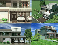 Contemporary Design Bungalow @ Gujranwala Cantt.