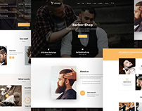 Crane Wordpress Theme, Barber demo