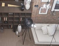 Private house interior. Unreal engine 4