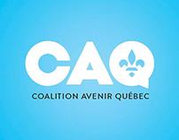 Coalition Avenir Québec / Identity