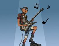 Punk Rocker design