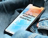 Acne Studios : 커머스 앱 + 브랜딩 웹 (김미래)
