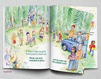 Making children's book print ready