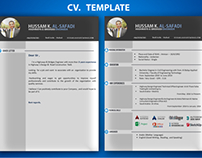 Free ( ppt) C.V template