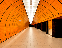 Munich Subway Tunnel