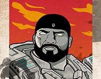 Gears Of War - Illustration