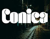 Conica typeface