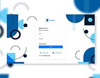 Modern Login UI Concept