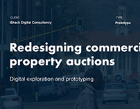 Commercial Property auctions prototype