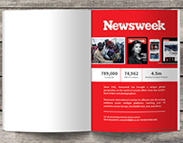 Print - Newsweek & OPMA catalogue advert