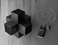 XCube 3D surround audio system