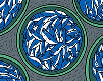 Original Illustration book: Sardines