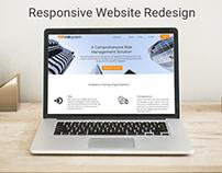 UX/UI Responsive Website Redesign