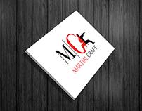 martial logo design