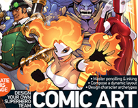 Art Magazine Tutorials--Comic Art
