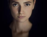 Personal portrait photo of model Victoria Ovdiienko
