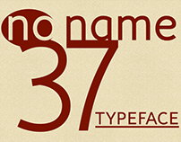 no name 37 | free typeface