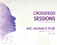 Affiche // CrossFedd Sessions