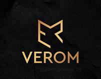 "logo design of the construction company ""VEROM"""