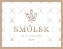 Hotel Smólsk - branding & photoshoot