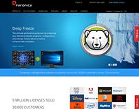 Security Software development website.