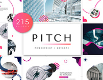 Pitch PowerPoint Template + KEY