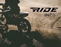 Logo Ride Shop