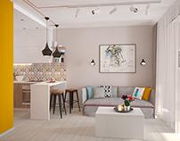 Small apartament in Kiev